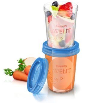 Контейнер для хран. продуктов Авен 5*240мл