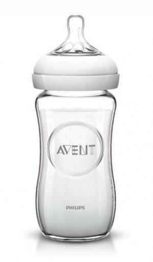 Бутылочка  Aвент  Natural 240 мл стекл.