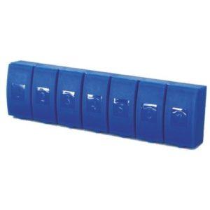 Таблетница  Enjee для таблеток пластик линейка 7 дней РТ6028