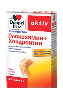 Доппельгерц® актив Глюкозамин + Хондроитин №30