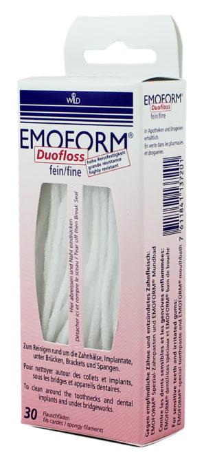 Зубная нить Duofloss 30шт Dr. Wild Emoform (Эмоформ дуофлос)
