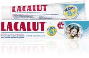 Зубная паста детская  8+ лет Лакалут 50мл