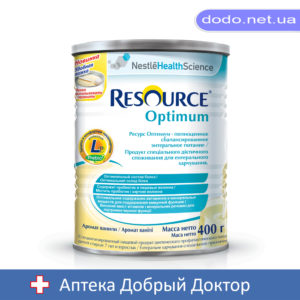 Сухая смесь Resource Optimum (Ресурс оптимум) 400 г Nestle (Нестле)
