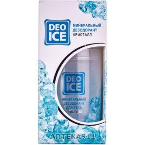 Дезодорант Део Айс Deo Ice минеральный кристалл 100г