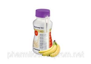Нутрикомп Дринк Плюс банановый 200 мл  4 B.Braun