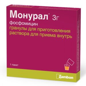 Монурал 3000мг 1 порошок (Фосфомицин)