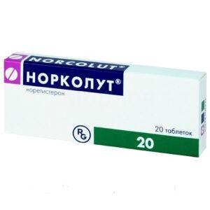 Норколут 5мг таблетки 20 Норетистерон