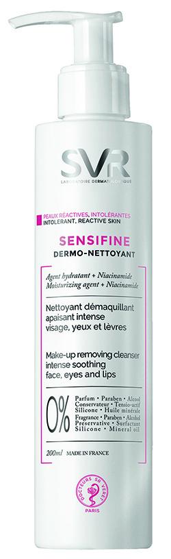 SVR Сенсифин очищающий крем-гель 200 мл