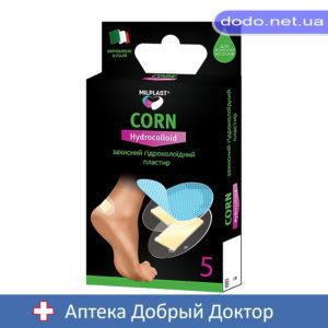 Лейкопластырь защитный гидроколлоидный Milplast Corn Hydrocolloid (Милпласт)