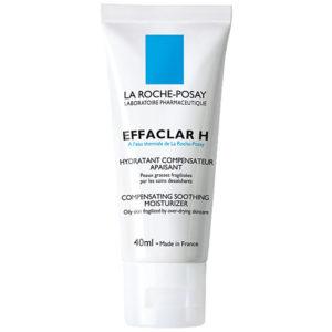 Интенсивно увлажняющее средство для жирной проблемной кожи Эфаклар Н 40мл LA ROCHE-POSAY  (Ля Рош)