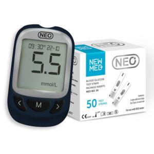 Глюкометр Neo +тест-полоски Neo 50