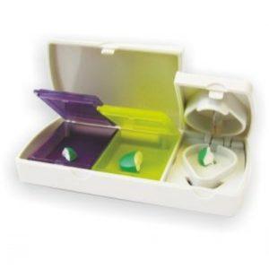 Таблетница -Делитель Enjee для таблеток пластик 209D