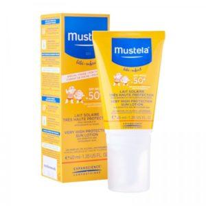 Лосьон солнцезащитный  SPF+50 40мл  Mustela (Мустела)