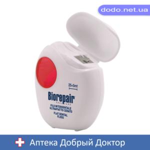 Зубная лента-флос избавление от чувствительности 30м Biorepair (Биорепейр) _025721-Аптека Добрый Доктор