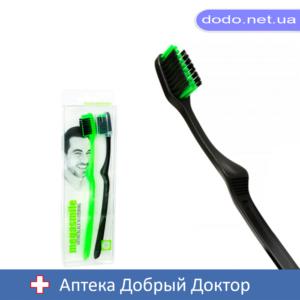 Зубная щетка Orto Black Whitening 2шт MegaSmile (МегаСмайл)
