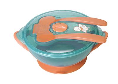 Bibi Детская посуда для кормления с умными Senso чувствительными столовыми приборами 400мл_033848 - Аптека Добрый Доктор
