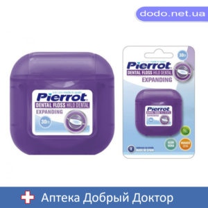 Зубная нить Алое Вера расширяющаяся 30м Pierrot (Пирот) Ref.48_032712-Аптека Добрый Доктор