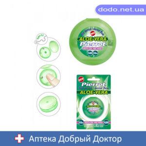 Зубная нить Алое Вера 50м Pierrot (Пирот) Ref.41_032711-Аптека Добрый Доктор