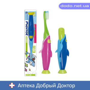 Зубная щетка  детская  Акула Pierrot (ПИРОТ) Ref.99