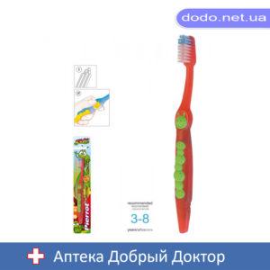 Зубная щетка детская 3-8лет Гусеница Pierrot (Пирот) Ref.96