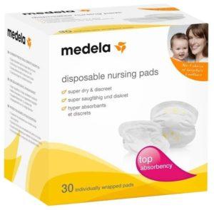 Одноразовые прокладки в бюстгальтер Disposable Nursing Pads NEW (30шт.) Medela (Медела)