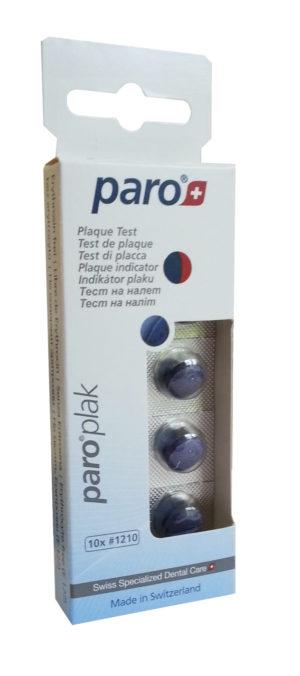 Таблетки для индикации налета Paro (Паро) Plak 10шт