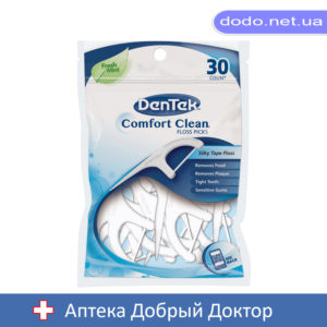 Флосс-зубочистки Комфортное очищение 30шт. DenTek (Ден Тек)
