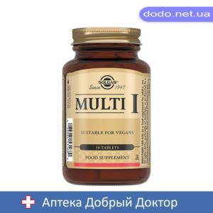 Мульти-I  30 таблеток Solgar (Солгар)