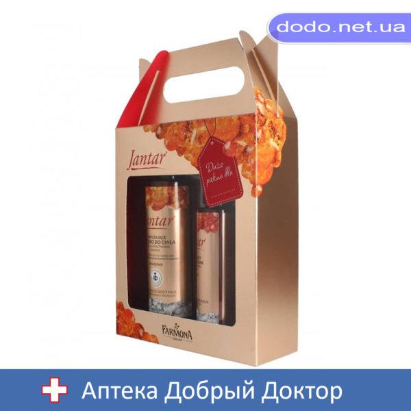 Набор Farmona Jantar DNA Repair Молочко для тела 200мл+бальзам для рук 100мл (Фармона)_033900-Аптека Добрый Доктор