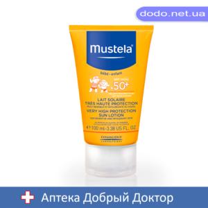 Лосьон солнцезащитный SPF+50 100мл  Mustela (Мустела )