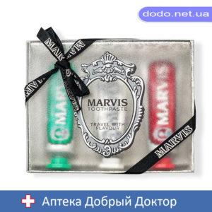 Набор 3 зубных пасты Класик,Отбеливающ,Корица 3*25мл Марвис MARVIS
