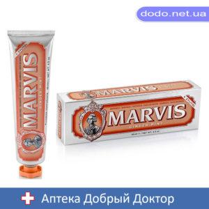 Зубная паста Имбирь Мята +Ксилитол 85мл Марвис MARVIS