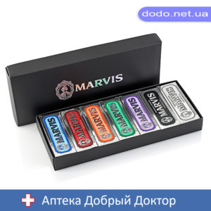 Набор 7 зубных паст MARVIS Flavours Box 7шт*25мл Марвис MARVIS