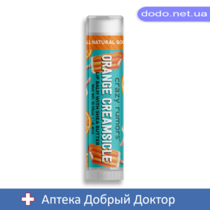 Бальзам для губ Апельсин со сливочным кремом Orange Creamsicle 4,25гр Крэйзи Руморс (CRAZY RUMORS) - Аптека Добрый Доктор