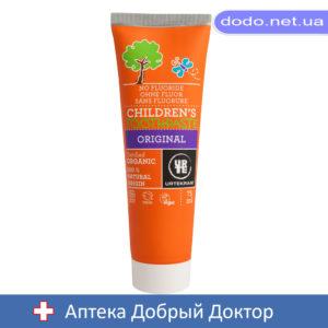 Органическая зубная паста для детей. Без фтора! 75 мл.Urtekram (Уртекрам)