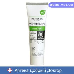 Органическая зубная паста Свежая мята 75 мл. Urtekram (Уртекрам)