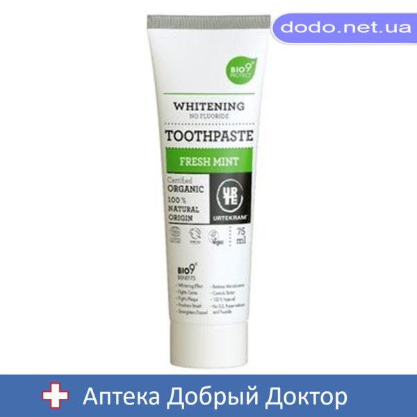 035191_Органическая зубная паста Свежая мята 75 мл. Urtekram (Уртекрам)-Аптека Добрый Доктор