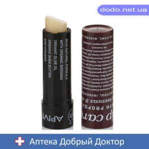 Бальзам для губ с пчелиным воском и прополисом 4,4г.  Apivita (Апивита)