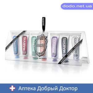 Набор 7 зубных паст MARVIS 7шт*25мл Марвис (прозрачная упаковка)