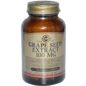 Солгар Экстракт виноградных косточек 100мг капсулы 30шт Solgar