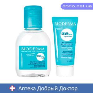 Набор АВСDerm Периораль 40мл + Н2О 100мл Bioderma (Биодерма)-Аптека Добрый Доктор