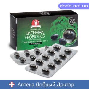 Ферментный растительный комплекс OM-X от Dr.OHHIRA с 12 штамами молочнокислых бактерий 30капсул - Аптека Добрий Доктор