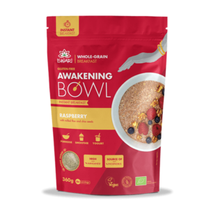 Завтрак Ишвари Awakening Bowl Малина 360г (натуральное питание ISWARI)