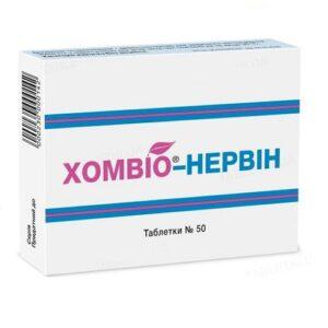 Хомвио-Нервин таблетки №50шт