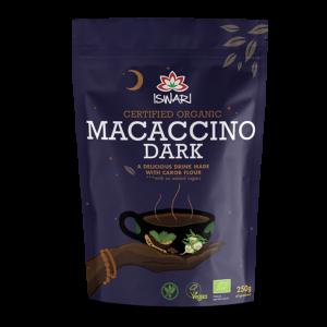 Растворимый напиток Ишвари Macaccino Dark 250г (натуральное питание ISWARI)
