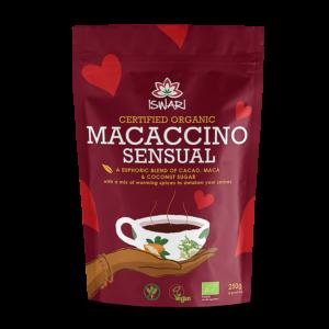 Растворимый напиток Ишвари Macaccino Sensual 250г (натуральное питание ISWARI)