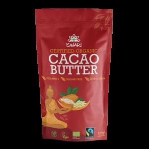 Какао-масло Ишвари Cacao Butter 125г (натуральное питание ISWARI)
