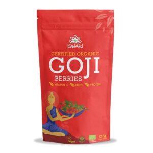 Ягоды Годжи Ишвари Goji Berries 250г (натуральное питание ISWARI)