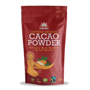 Какао-порошок Ишвари Cacao Powder 125г (натуральное питание ISWARI)