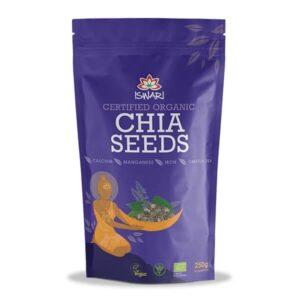 Зерна Чиа Ишвари Chia Seeds 250г (натуральное питание ISWARI)